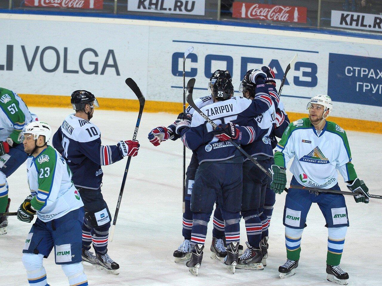 65Плей-офф 2016 Восток Финал Металлург - Салават Юлаев 31.03.2016