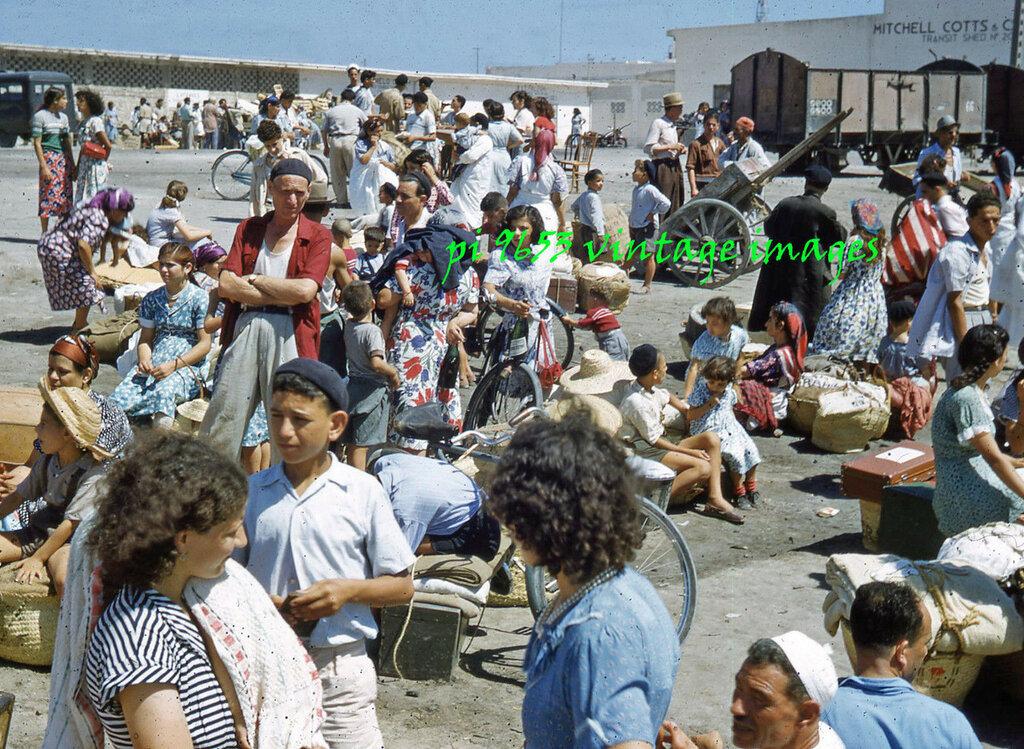 1950-х Израиль переселенцы из Триполи Ливии.JPG