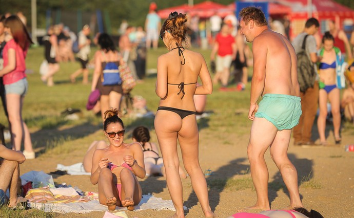 Репортаж с минских пляжей