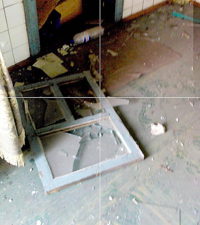 Боевики обстреляли из танка жилые дома в Марьинке, - пресс-центр АТО. ФОТОрепортаж