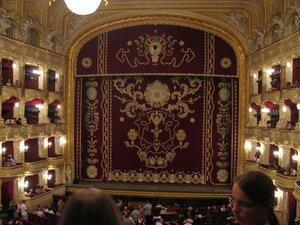 Сцена Одесского театра оперы и балета
