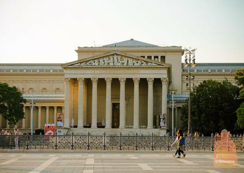 Музей искусств в настоящее время закрыт на реконструкцию