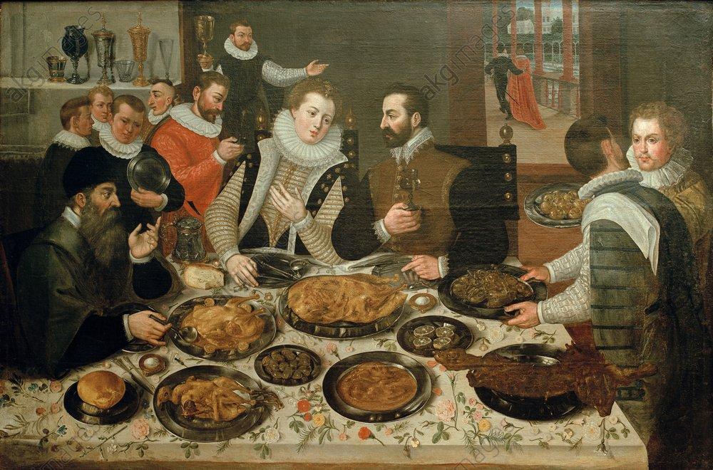 Valckenborch u.Flegel, Festessen - Valckenborch & Flegel / Banquet - Valckenborch et Flegel, Festin