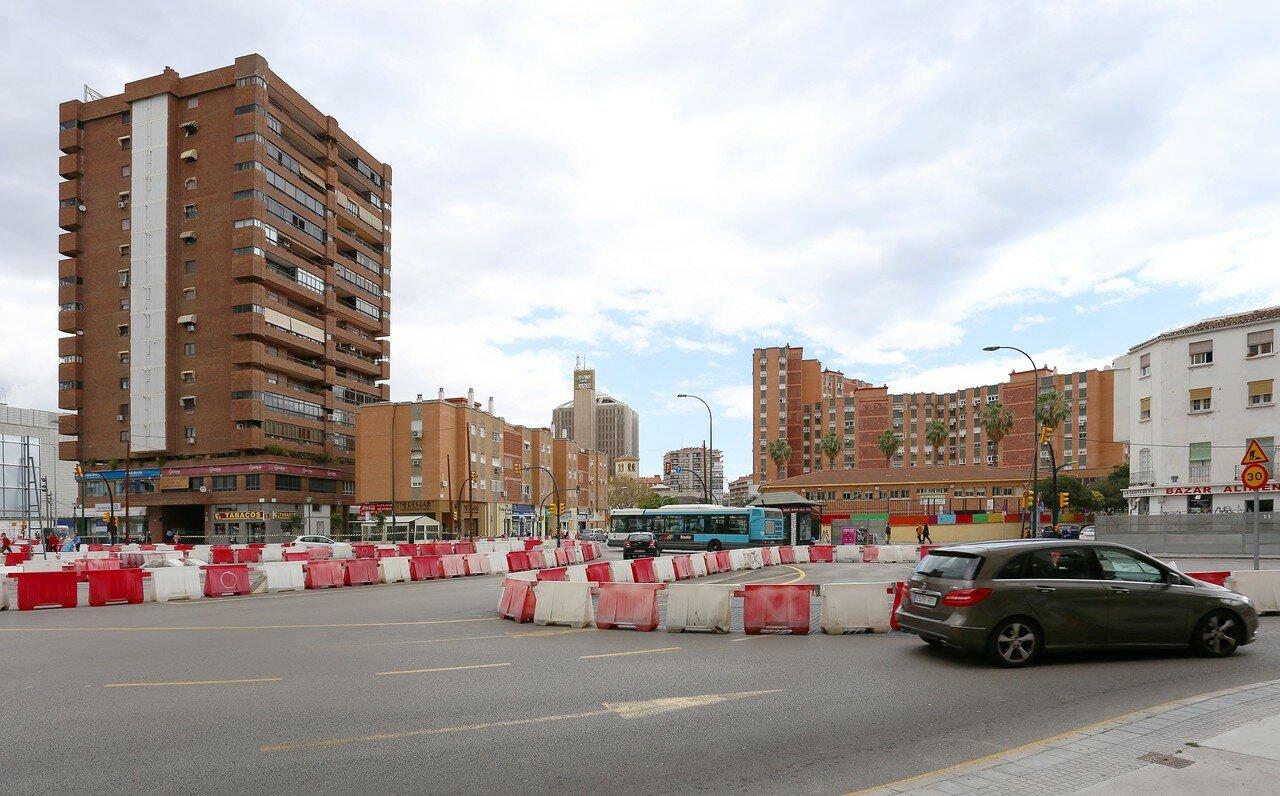 Малага. Проспект Авроры (Avenida de la Aurora)