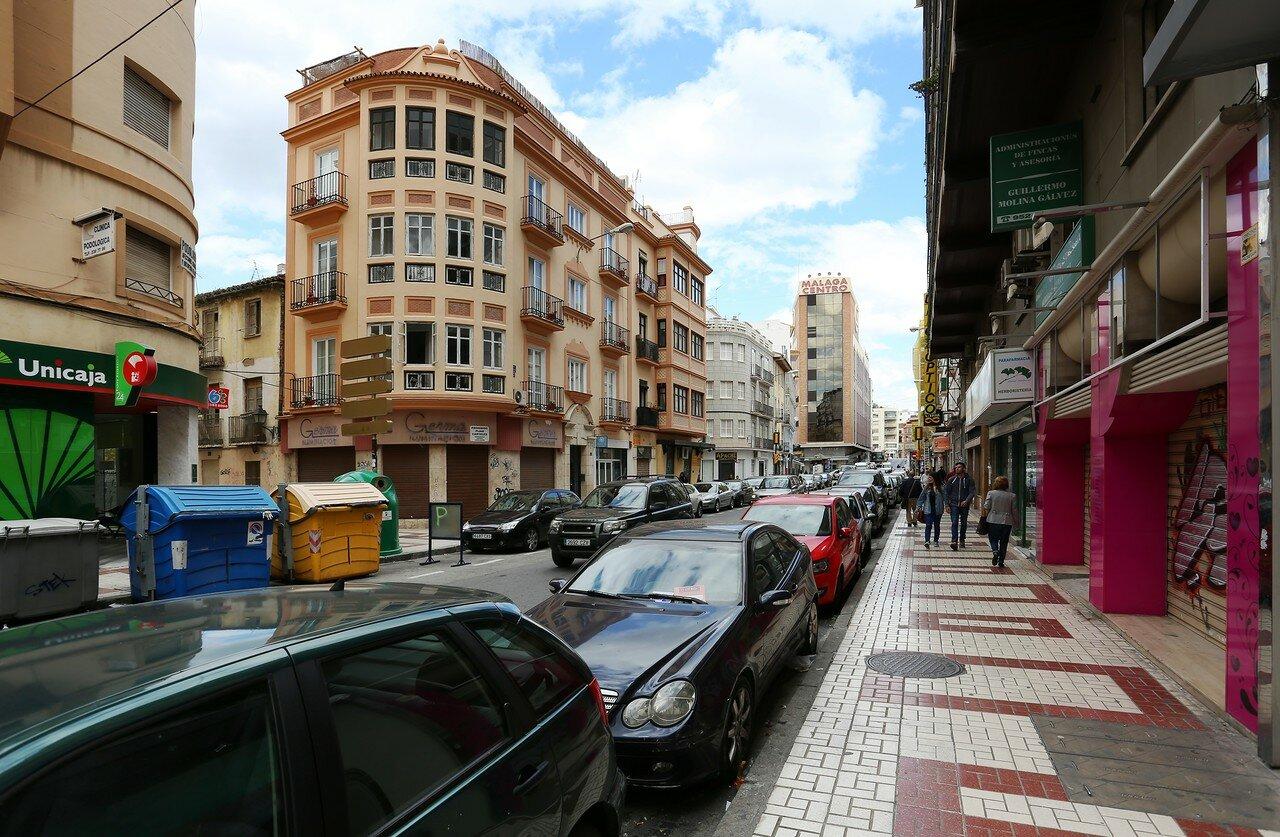 Малага. Улица Мартинеса Мальдонадо (Calle Martínez Maldonado)
