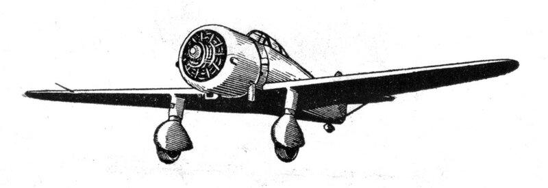 Силуэты итальянских самолетов (1939) 010