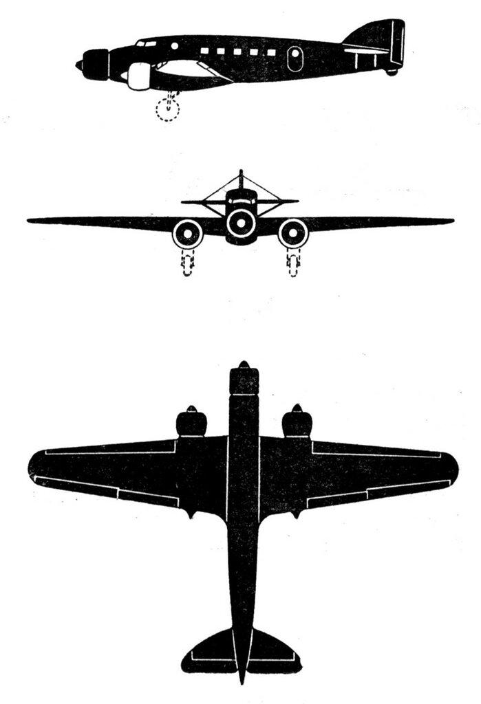 Силуэты итальянских самолетов (1939) 069