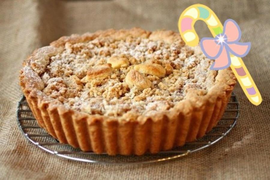 Как приготовить яблочный пирог за несколько минут