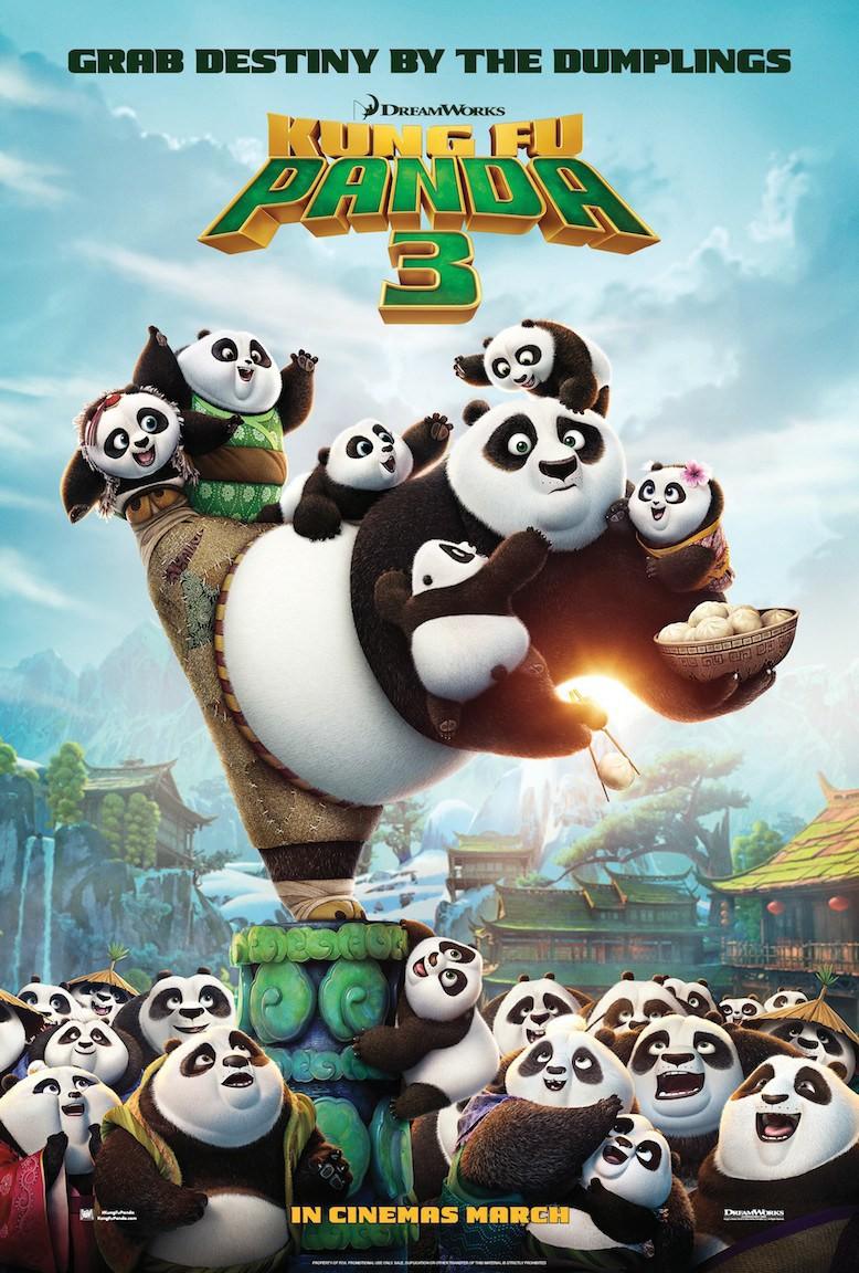В очередной серии приключений упитанного мастера боевых искусств мультипликационный панда По встрети
