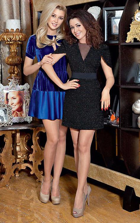 6. Вера Брежнева с дочерью Соней Дочери певицы всего 15 лет, но с Верой они больше напоминают двух с