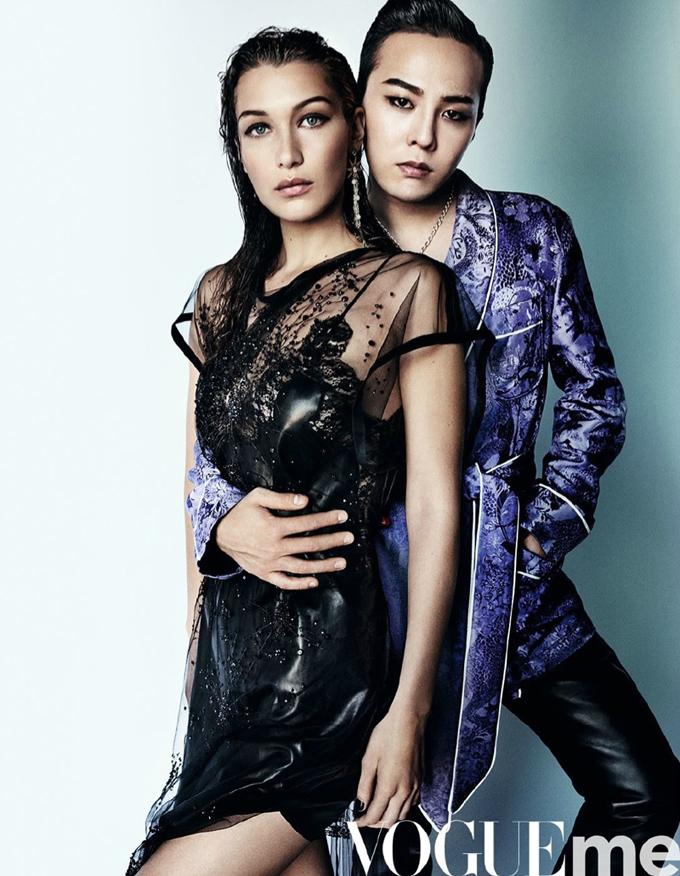 Белла Хадид и G-Dragon на обложке Vogue China Me