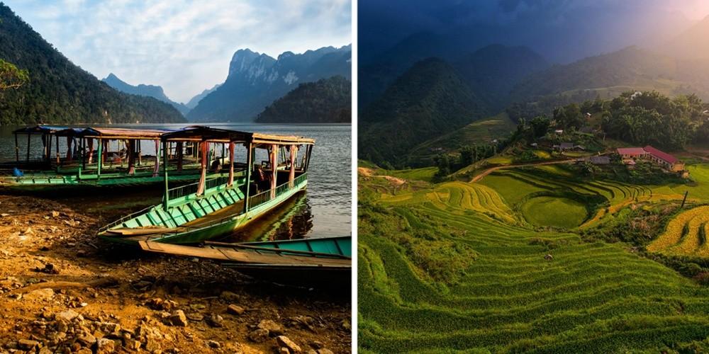 Вьетнам — это древние храмы и природные красоты национальных парков, здоровая и вкусная еда (диетиче