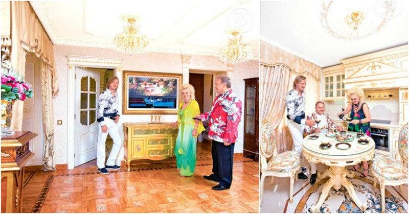 Декором квартиры известной российской исполнительницы, Надежды Кадышевой, занимался итальянский