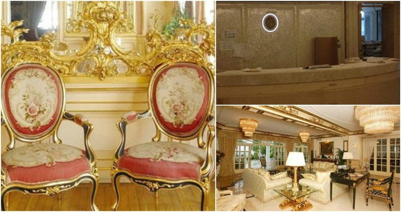 По слухам, певец заплатил за ремонт своей квартиры $10 млн. Квартиру в центре Москвы подарил ему