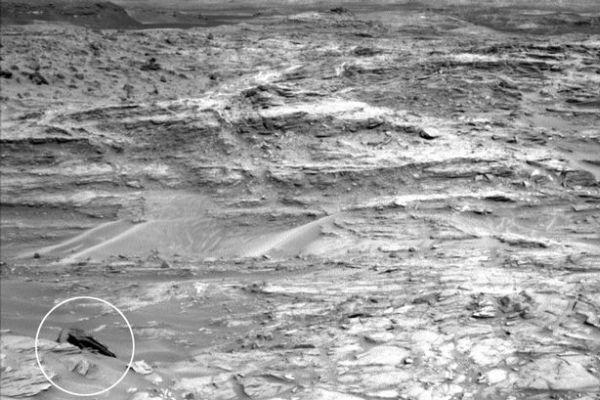 НаМарсе обнаружили обломки космического корабля