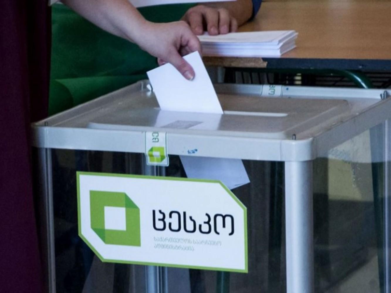 ЦИК Грузии просит навыборы еще $2,5 млн