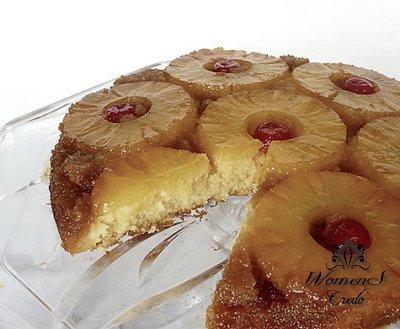 Диетическое печенье с ананасом