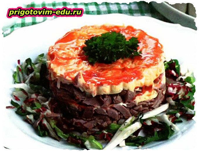 Салат мясной «Простой»