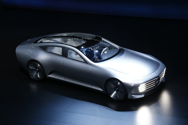 Mercedes-Benz Concept IAA car is presented during the media day at the Frankfurt Motor Show (IAA) in
