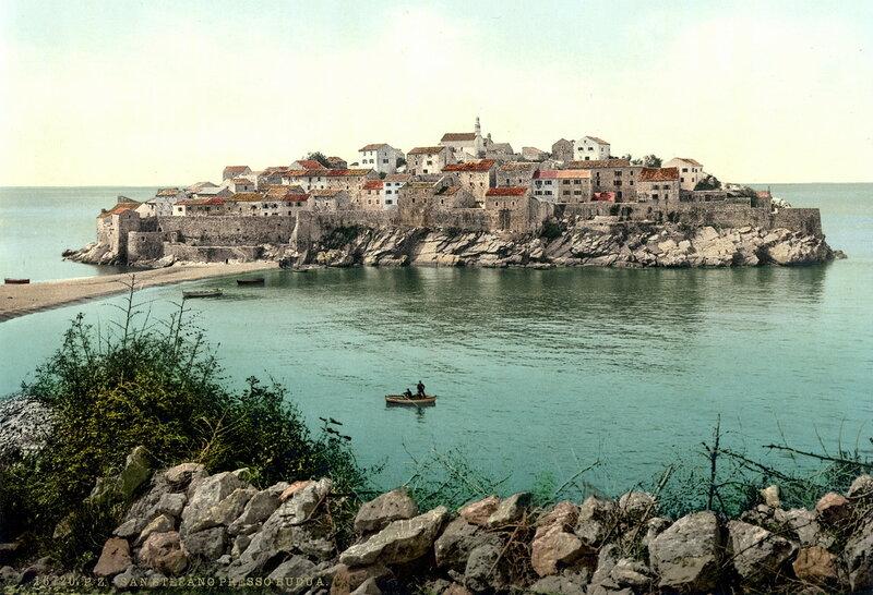 Остров Святого Стефана в конце XIX века