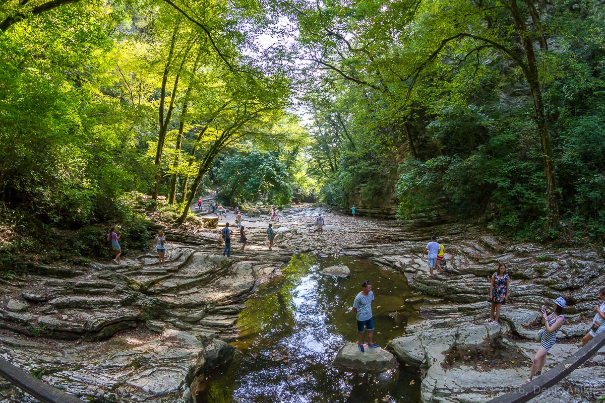 Агурское ущелье, водопады фото 12