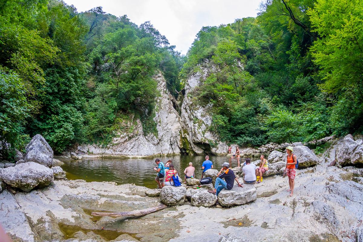 Агурские водопады фото 12