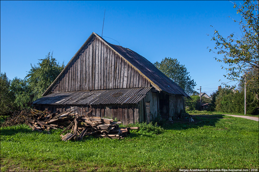 Литовская деревня