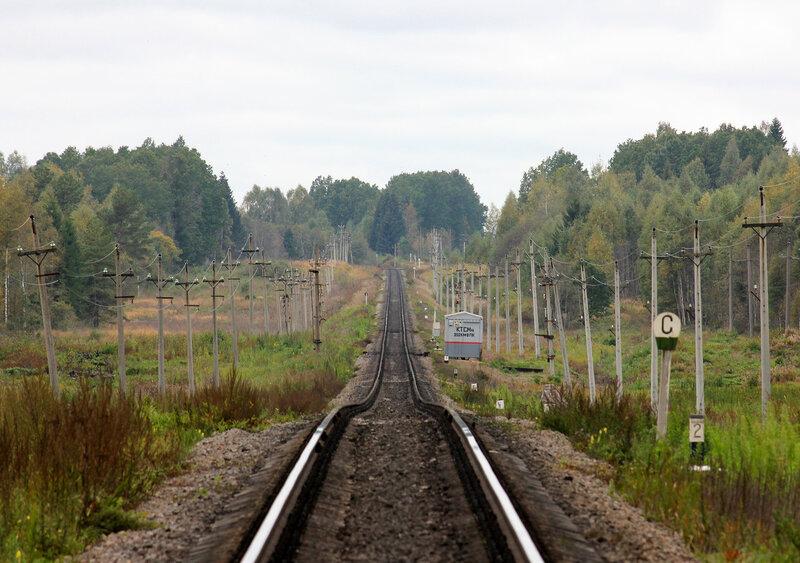 Горка и КТСМ, перегон Подсосенка - Земцы