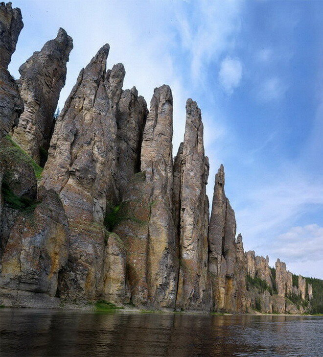Ленские столбы. Россия