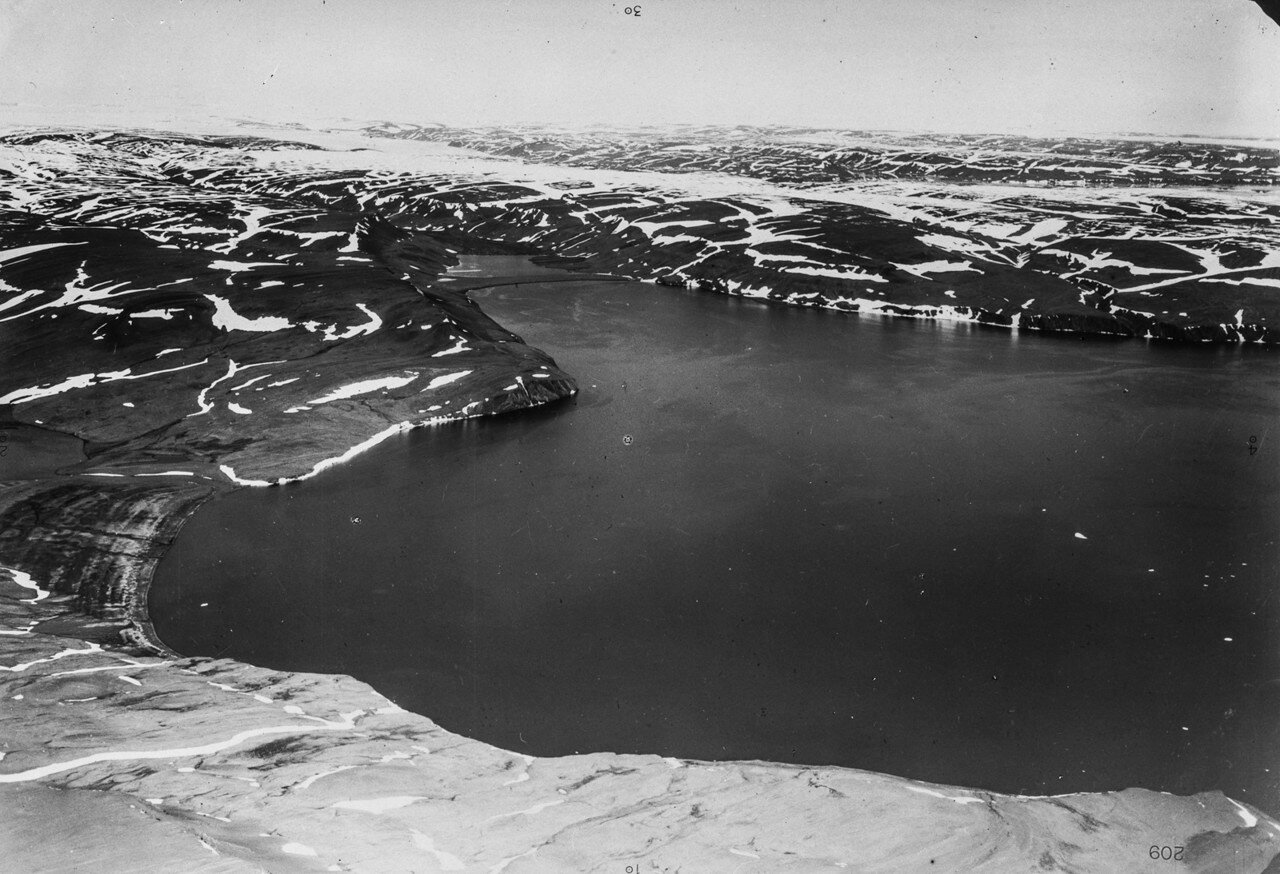 1931. Новая Земля. Залив на восточном побережье