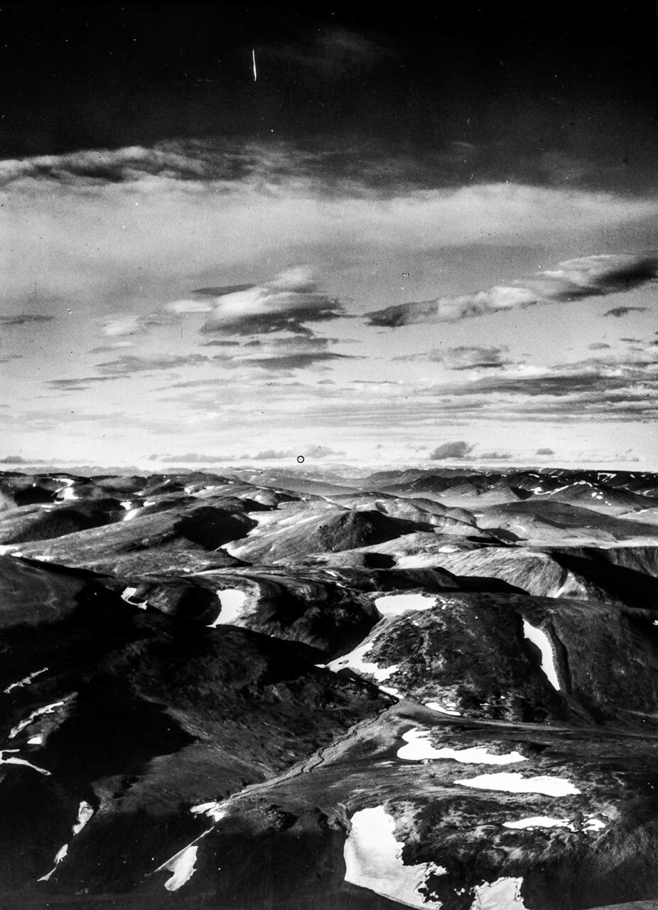 1931. Таймыр. Формирующийся ледниковый ландшафт