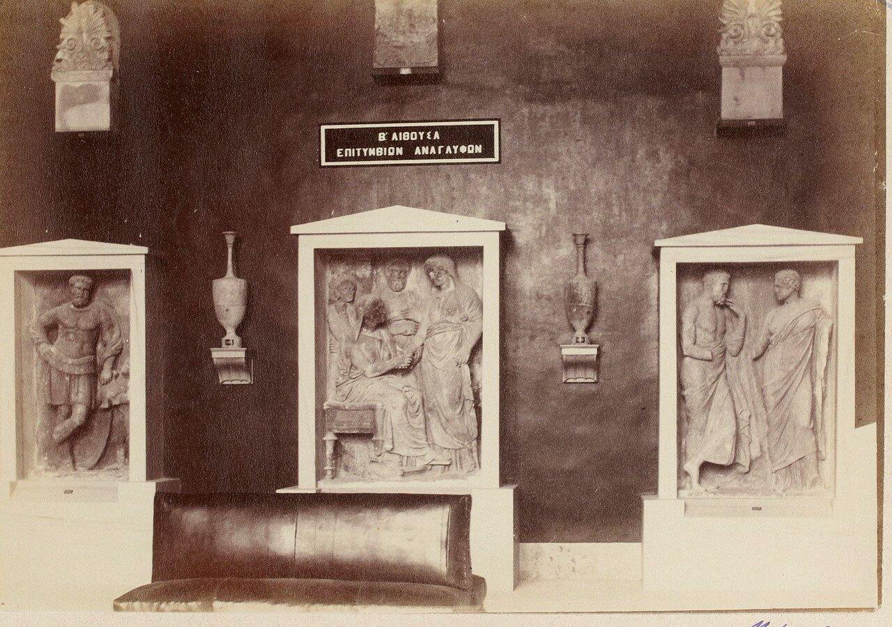101. Надгробные стелы и вазы