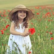 Девочка в маковом поле