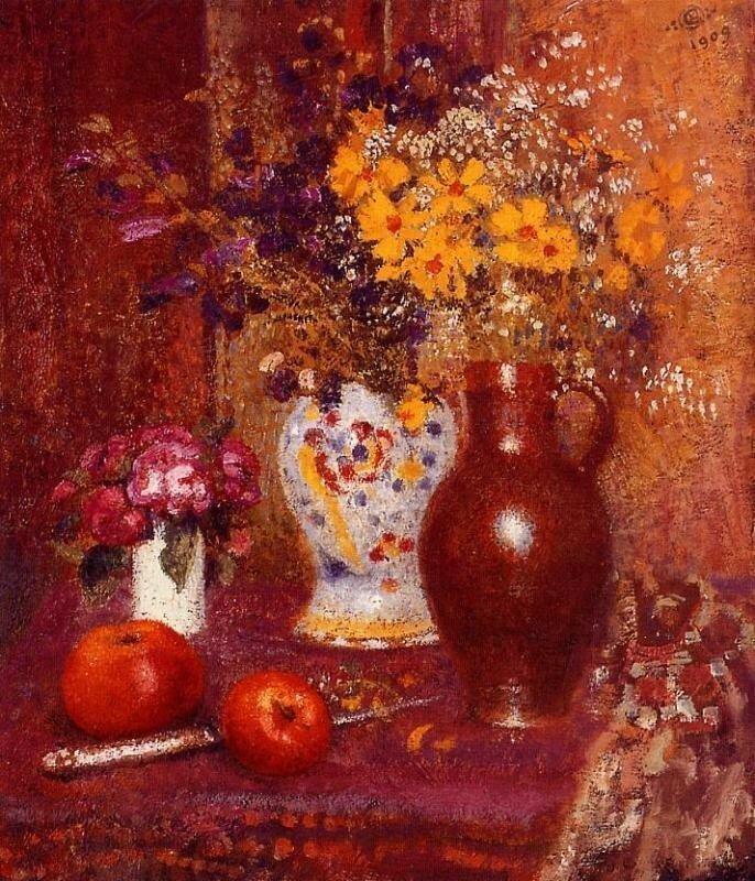FLOWERS AND APPLES Жорж Леммен