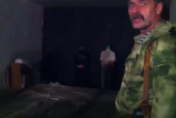 Игорь Безлер записал видео расстрела двух пленных силовиков
