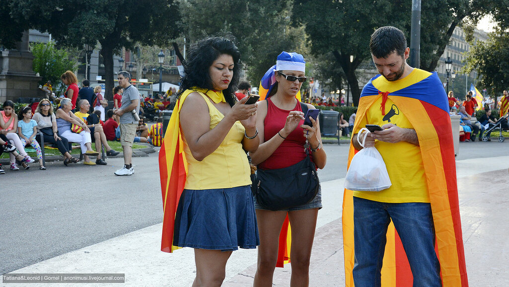 Импортные люди. Барселона. Испания
