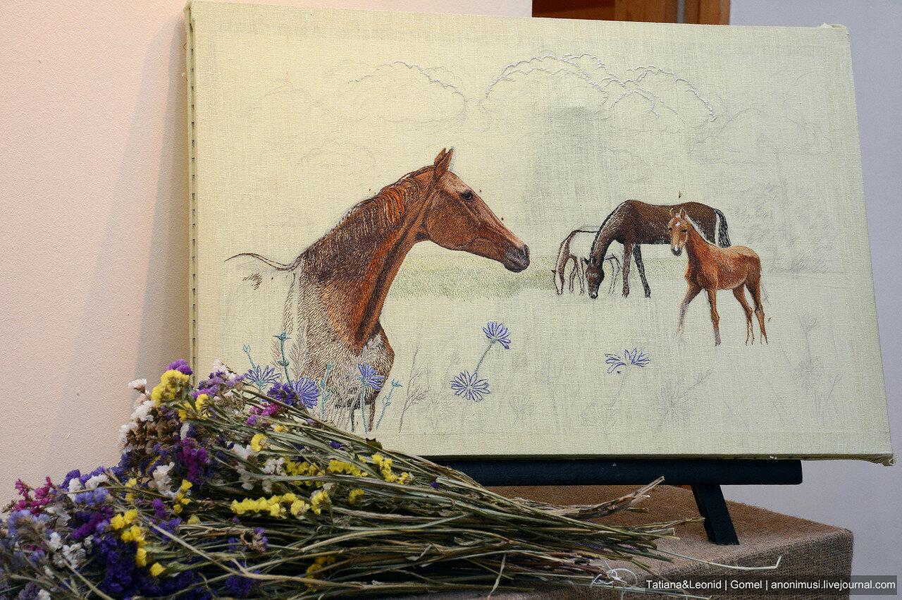 Прикосновение к прекрасному выставка Анны Пугачёвой