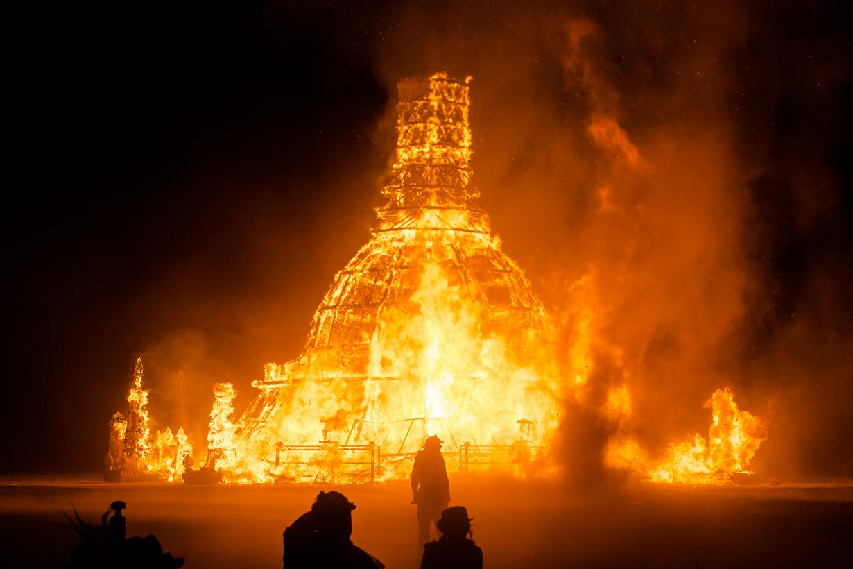 США. Невада. Пустыня Блэк-Рок. Во время фестиваля Burning Man 2014. (Gwen)