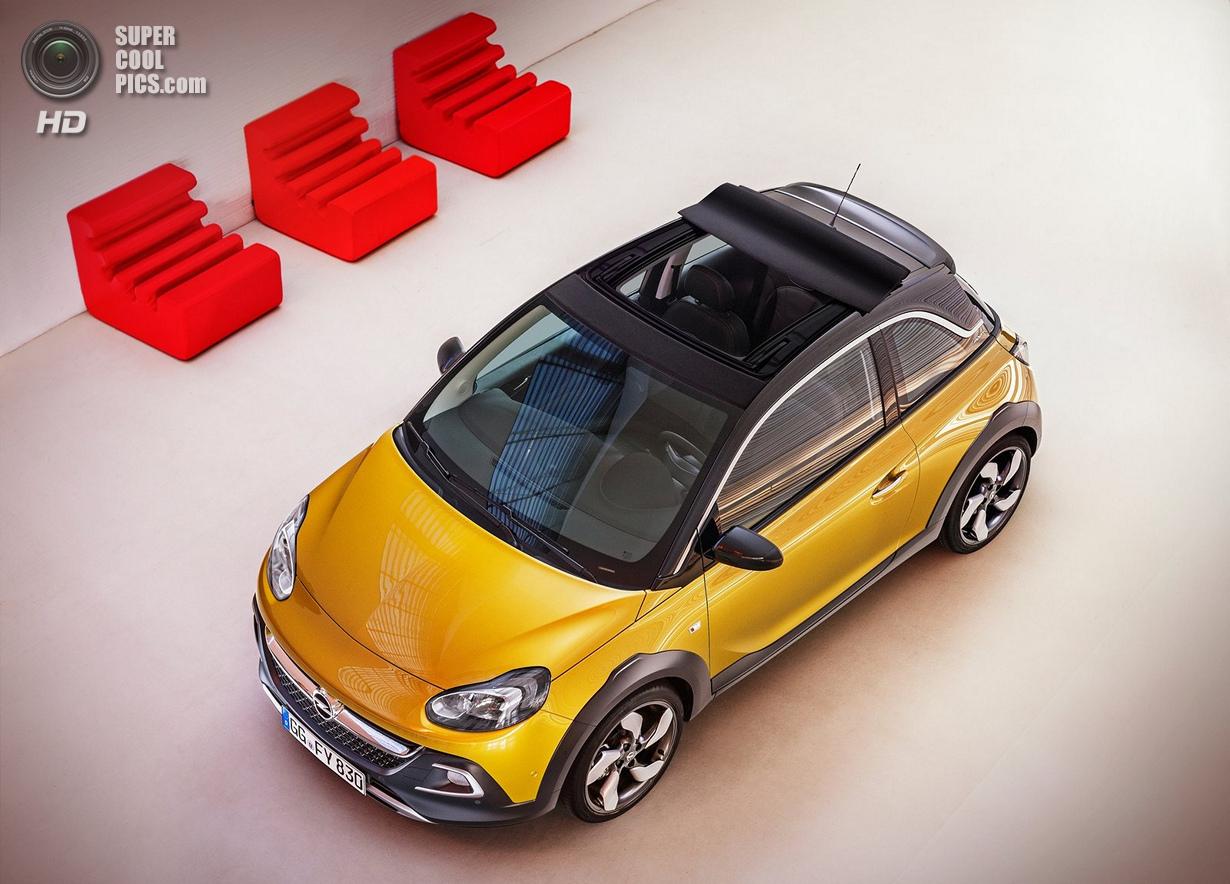 Мини-кроссовер со съёмной крышей от Opel