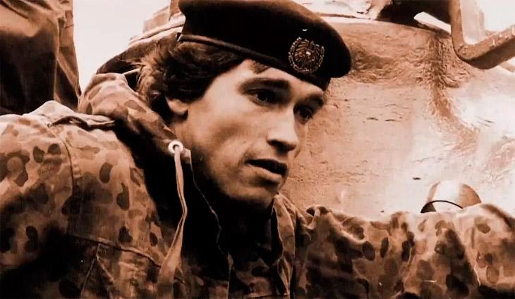 Как Арнольд Шварценеггер в армии служил (8 фото)