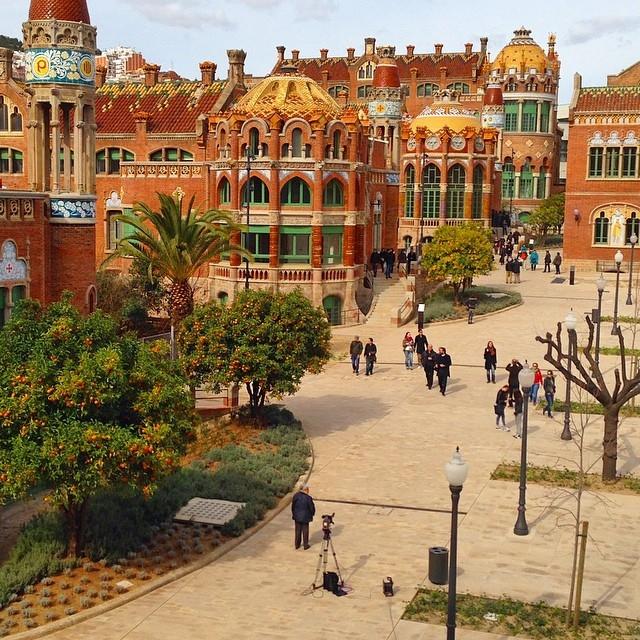 Красивая архитектура Барселоны Instagram фото 13