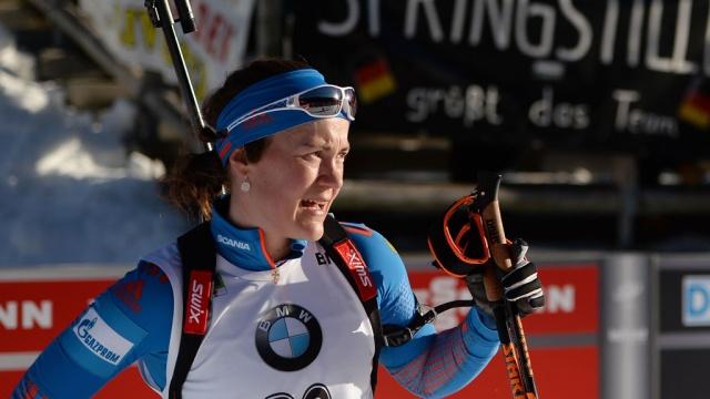 Русские биатлонисты Юрлова иГараничев победили вмасс-старте вГельзенкирхене
