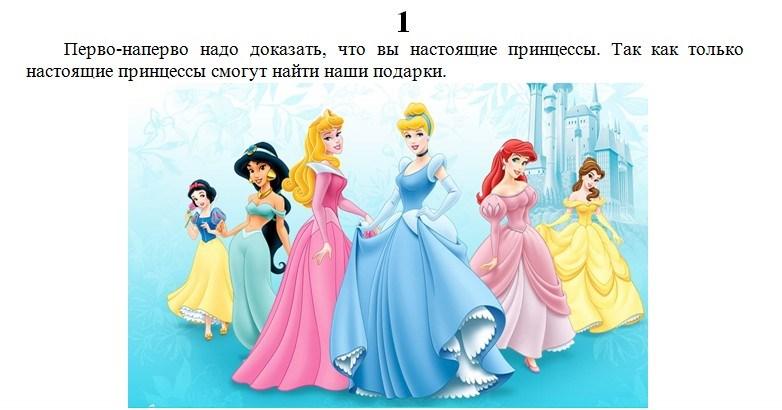 День рождения девочке 6 лет сценарий принцесса