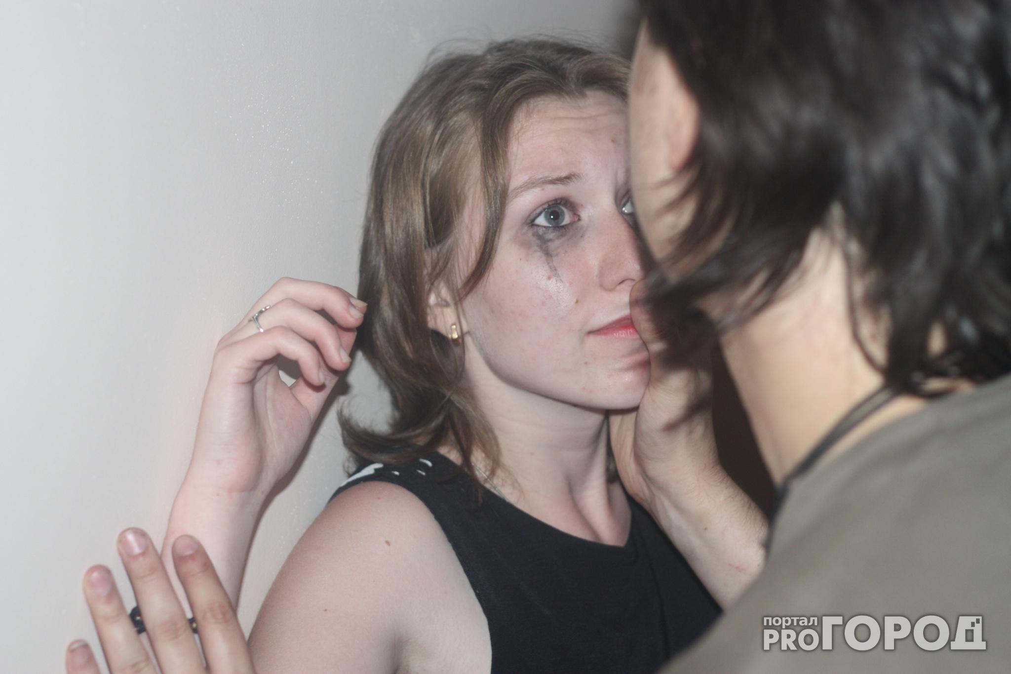 Спускают в женщину 12 фотография