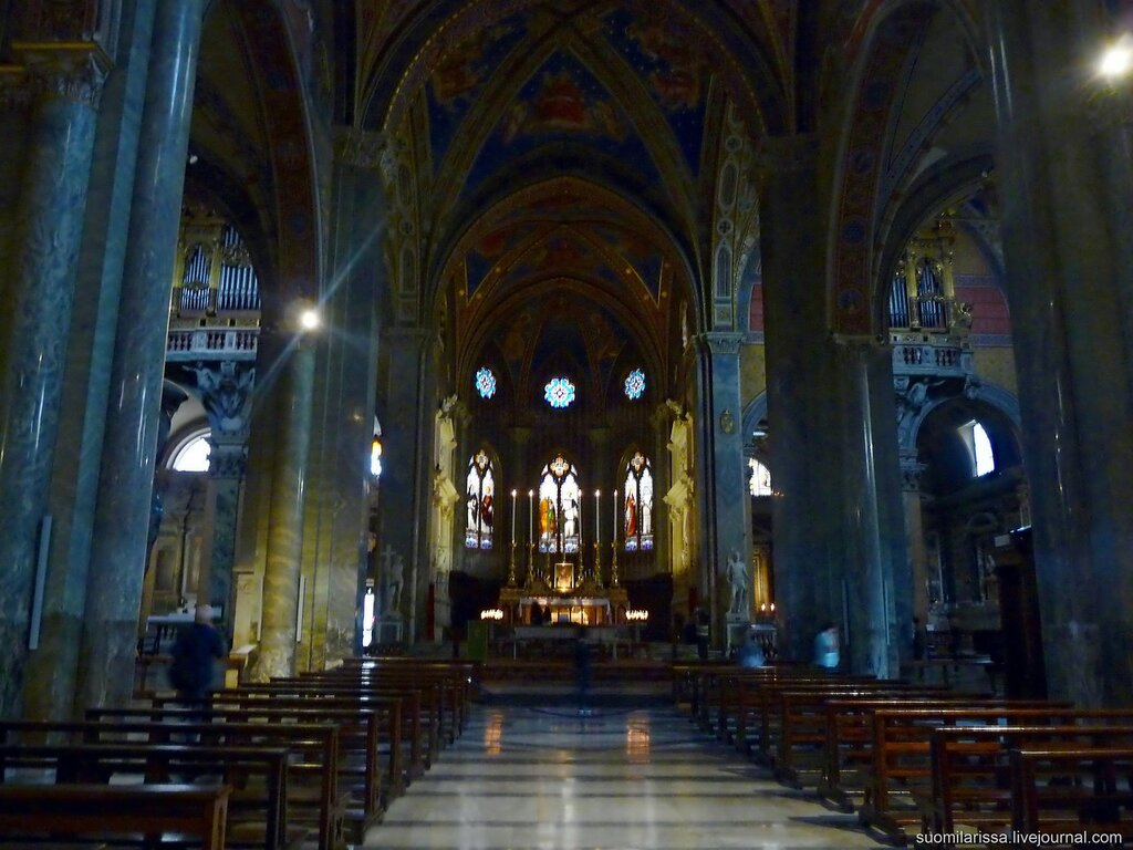 Церковь Санта-Мария-сопра-Миневра.