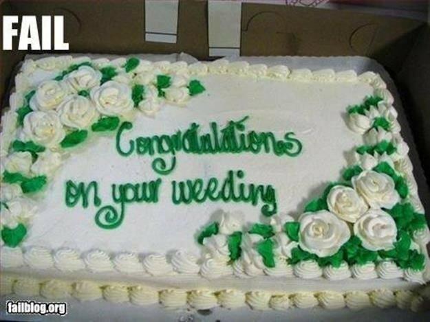 Полтора десятка (и больше) чудовищных свадебных тортов