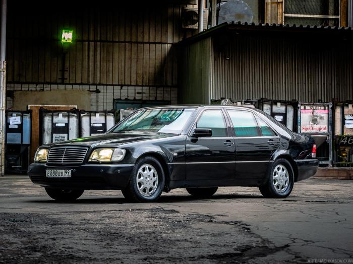 Mercedes-Benz S600 W140 - броневик из девяностых