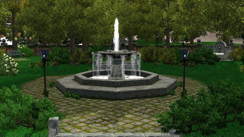 Park Fountains by ihelen