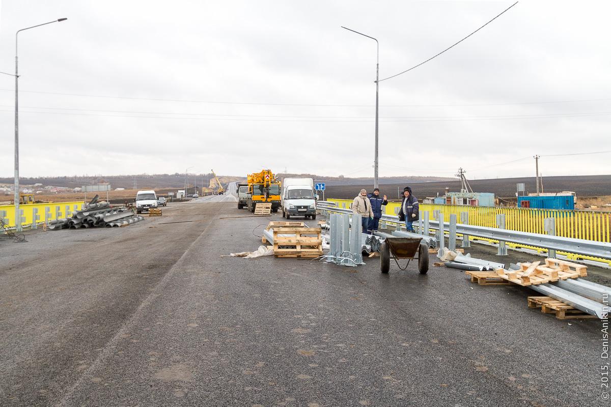 Строительство автодороги в обход Елшанки 12