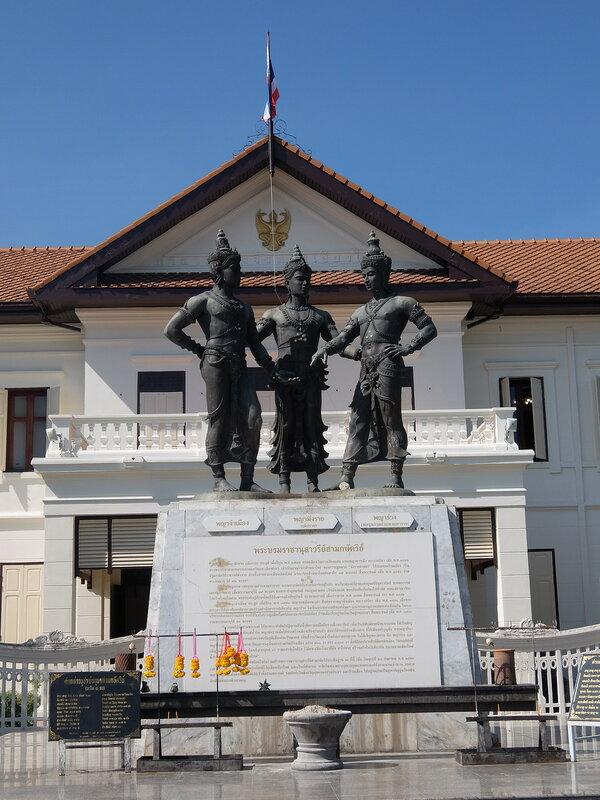 Чиангмай - Памятник Трем Королям